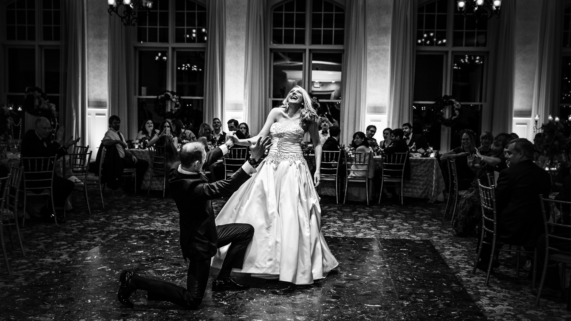 Weddings First Dance Photo at the Cranwell